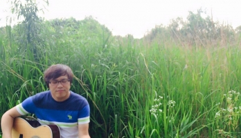 난지천 한강공원에서…